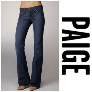 Paige Denim Hollywood Hills Bootcut Jeans Bling 28
